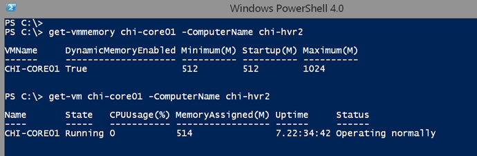 Creating a Hyper-V VM Memory Report • The Lonely Administrator