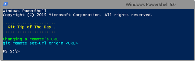 git tip of the day