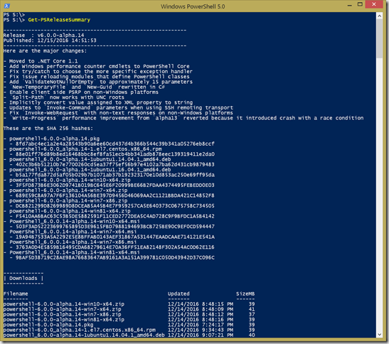 PowerShell 6 0 Release Tools • The Lonely Administrator