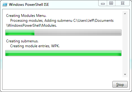 PowerShell ISE AddOn ModuleMenu • The Lonely Administrator