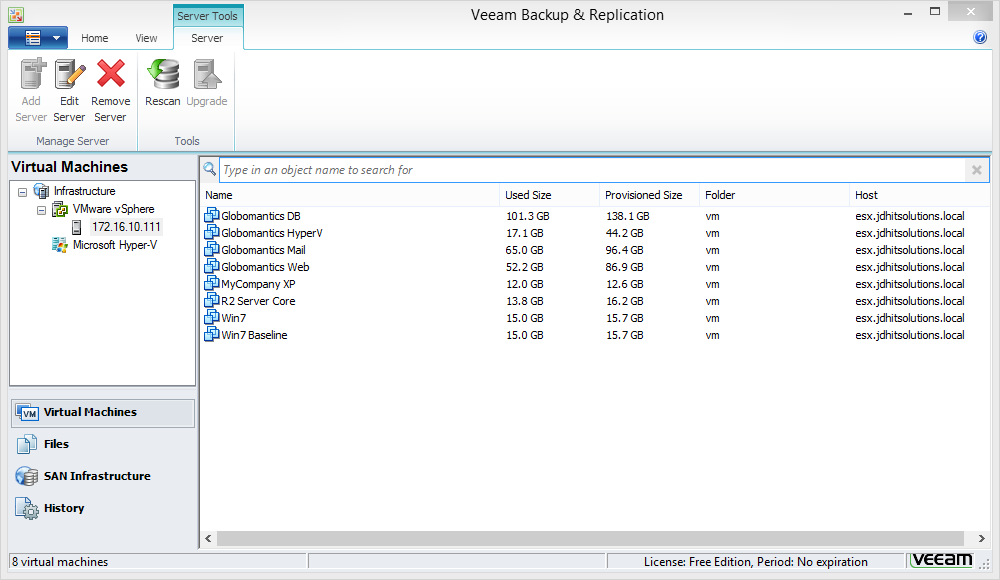 Easy VM Backup with Veeam Zip • The Lonely Administrator