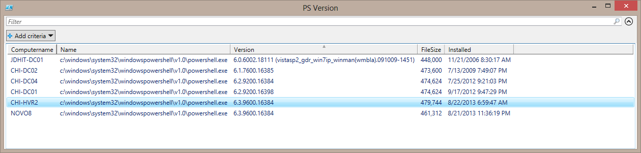 Get PowerShell Version with WMI • The Lonely Administrator