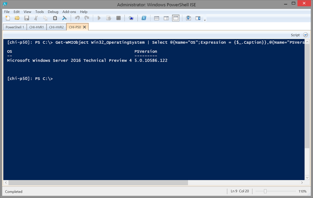PowerShell ISE Archives • The Lonely Administrator