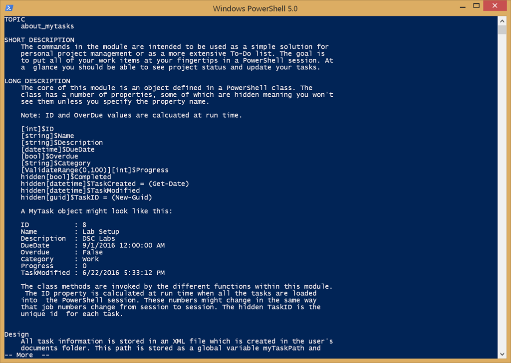 Introducing a PowerShell To-Do Manager • The Lonely Administrator