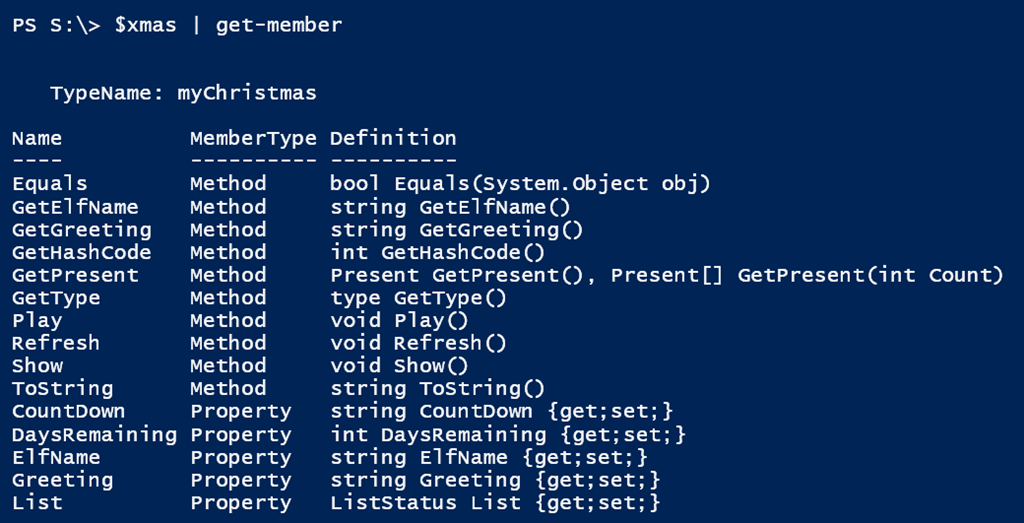 A Classy PowerShell Christmas • The Lonely Administrator