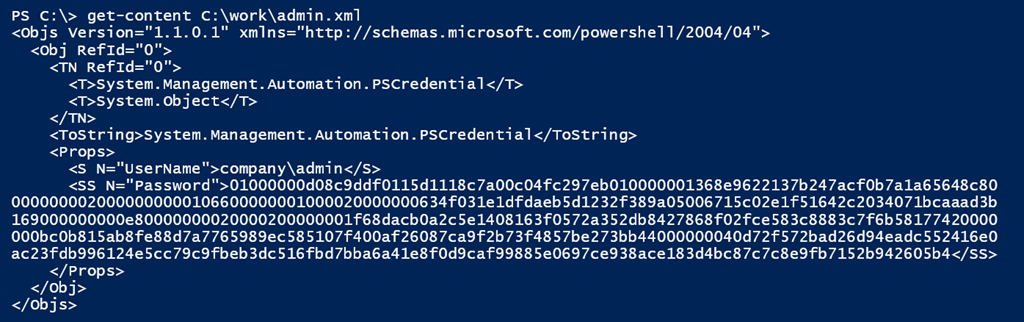 Storing PowerShell Credentials in JSON • The Lonely