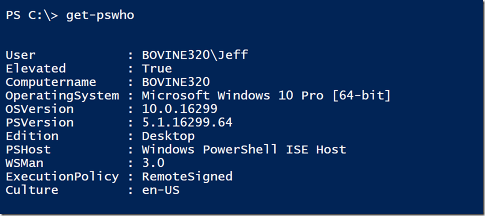 Who is Running Your PowerShell Script? • The Lonely