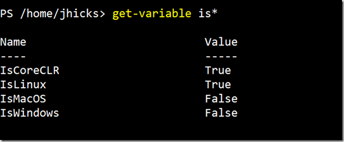Another Look at PowerShell Core Version Information • The Lonely