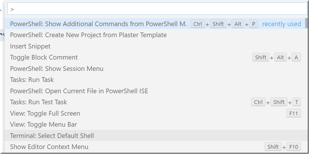 Extending VSCode with PowerShell • The Lonely Administrator