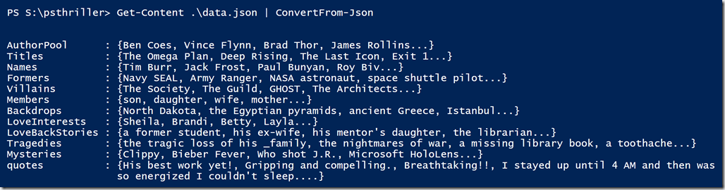 More Fun with PowerShell Thrillers • The Lonely Administrator