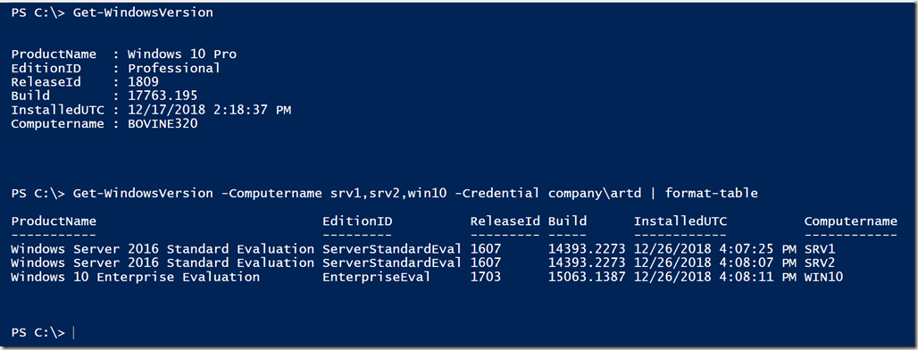 Building More PowerShell Functions • The Lonely Administrator