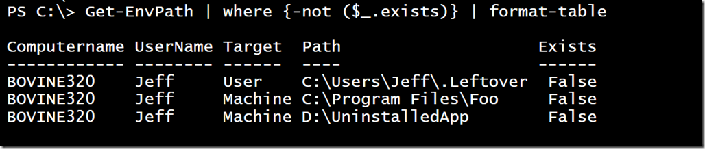 More PowerShell Adventures in Cleaning Your Path • The Lonely